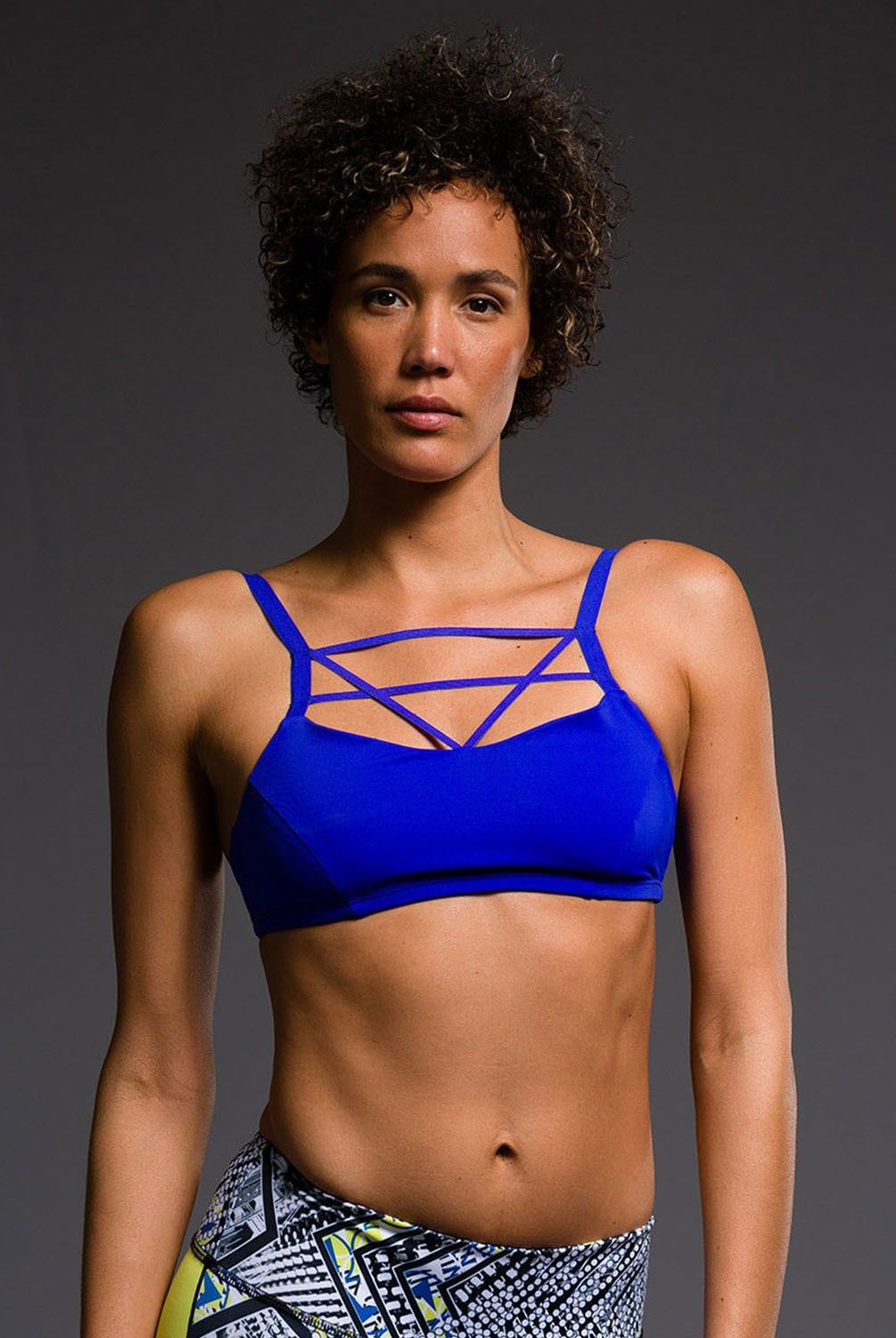 Its all about the criss-cross strappy bras. A newbie that we love from