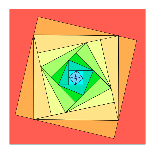 Pythagorean Triples Coloring Yummy Math Math Activity Or Just