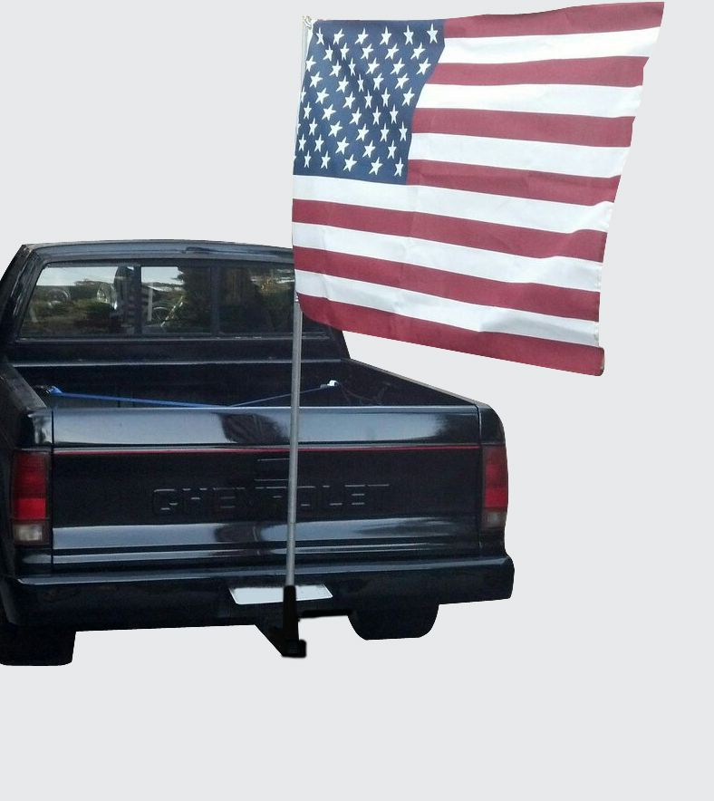 Standard Tow Hitch Flag Holder On Amazon Com Flag Flag Holder Flag Pole Holder