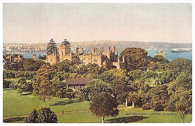 #Australia - #sydney - government #house - old postcard,  View more on the LINK: http://www.zeppy.io/product/gb/2/371592838014/