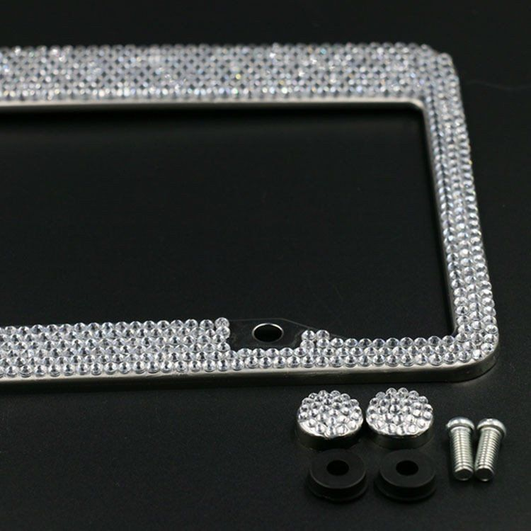 Ultra Bling Crystal License Plate Frame | Luxury cars, License ...