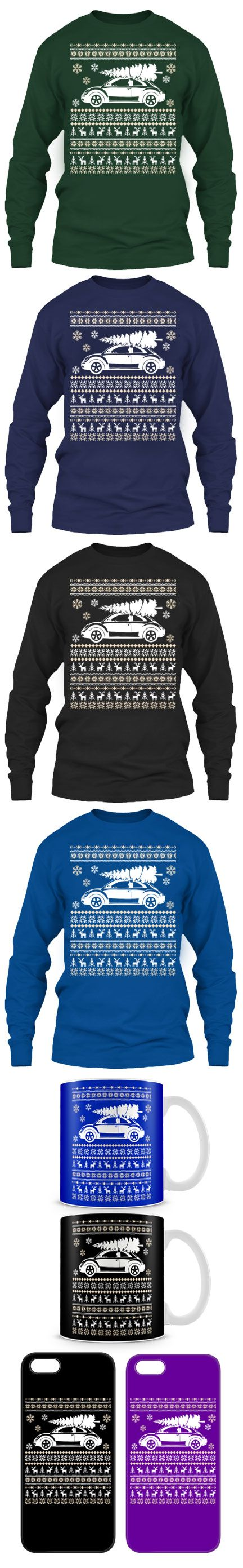 Beetle Ugly Christmas Sweater! Click The Image To Buy It Now or ...