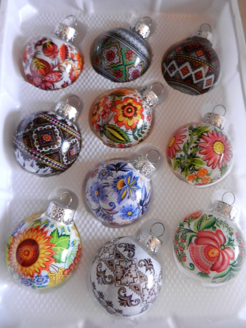 Ukrainian Christmas ornaments for Baba. | Christmas ...