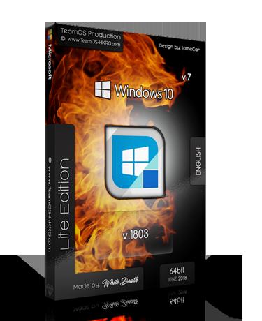 Information Name:Win 10 lite edition v7 2018 Build Version