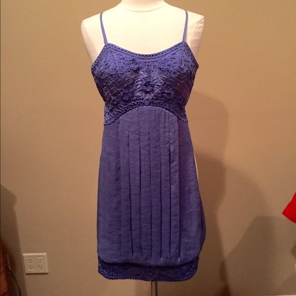 Sue Wong Cocktail Dress Periwinkle blue/purple cocktail dress with lovely details; side zipper; fully lined; polyester. Pinned on size 6/8 mannequin. Check out the $6 section near the bottom of my closet (before the sold items) for lots of bundle-worthy $6 items! 15% bundle discount on 2+ items in a bundle. Sue Wong Dresses