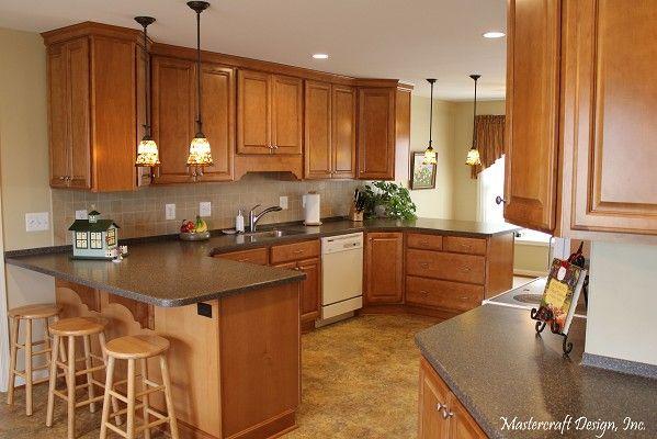 Kraftmaid Belmont Praline On Maple Kitchen Home Decor Mastercraft
