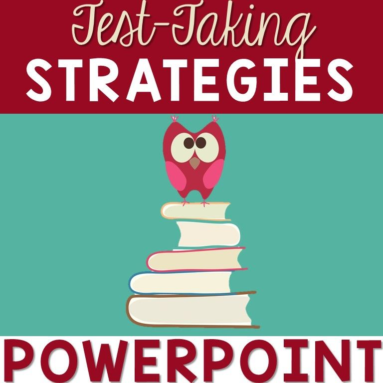 Test-Taking Strategies Sample interactive PowerPoint for grades 3-6 ...