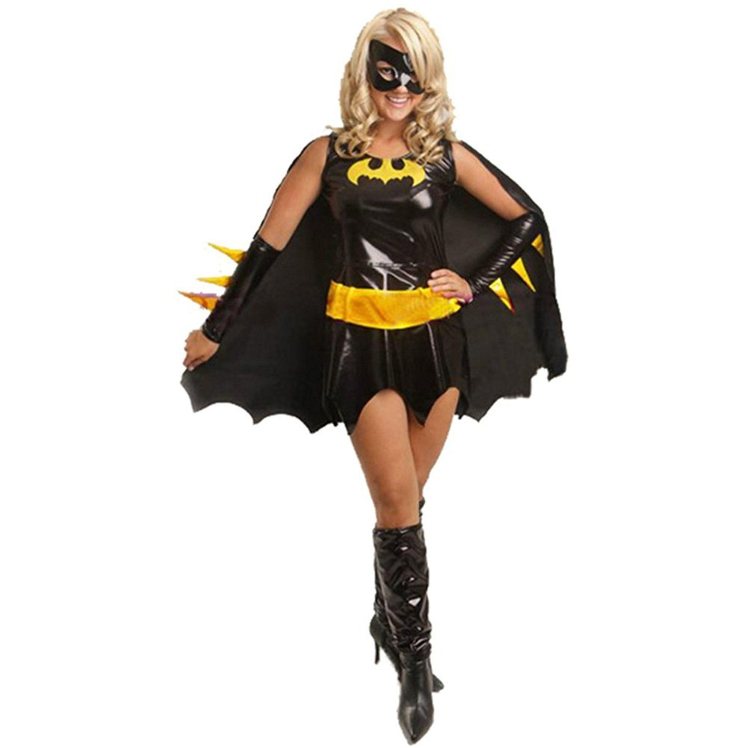 Amazon.com Batwoman Costume Cosplay Halloween Party Costume for Woman XCOSER Clothing  sc 1 st  Pinterest & Batwoman Costume Cosplay Halloween Party Costume for Woman XCOSER ...