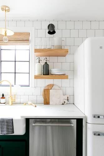 A 1930s Fixer-Upper Gets A Modern Renovation Kitchen Pinterest