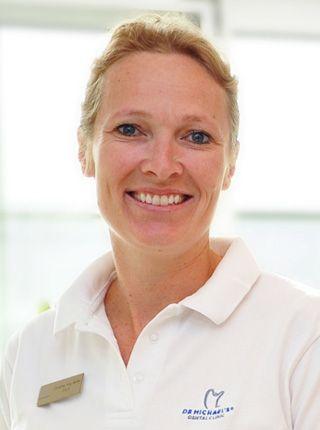 """Dr. Christina Friis-Moeller, DDS Masters Level Achievement in Hands-On Aesthetic Continuum at The Rosenthal Institute in New York Denmark  """"In this region, most people believe that dentistry usually involves pain. The reaction when they finally find out that it isn't just makes my day!"""""""
