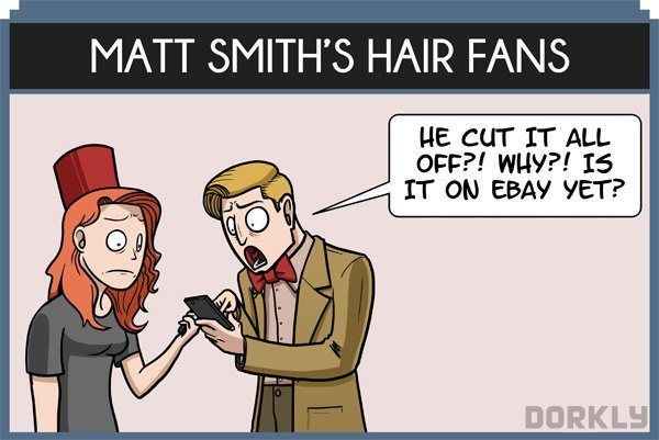 """DORKLY Comic: """"The 12 Types of 'Doctor Who' Fans"""" 