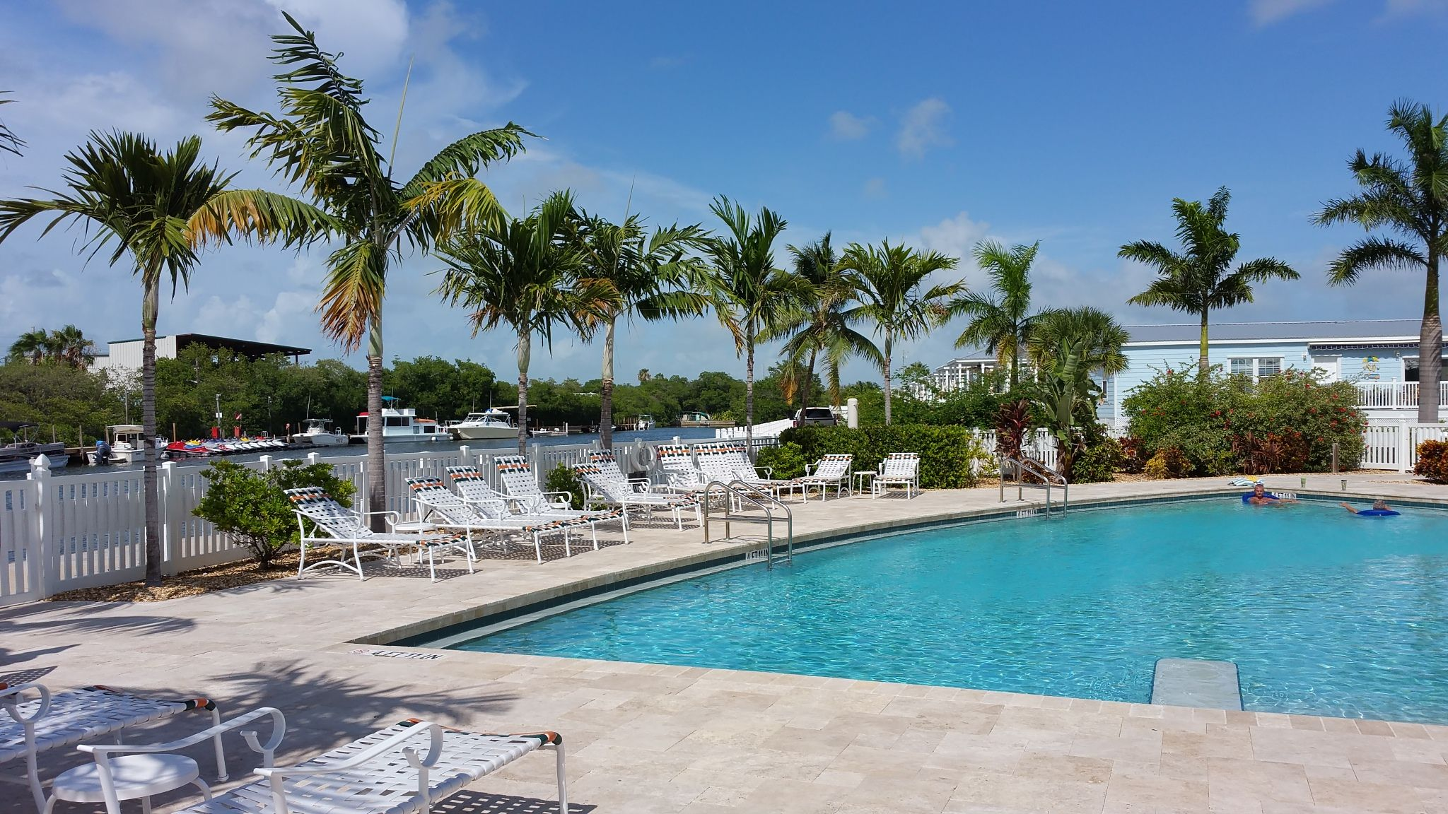 Beautiful Pool Area At The Sunset Harbor Community In Key West
