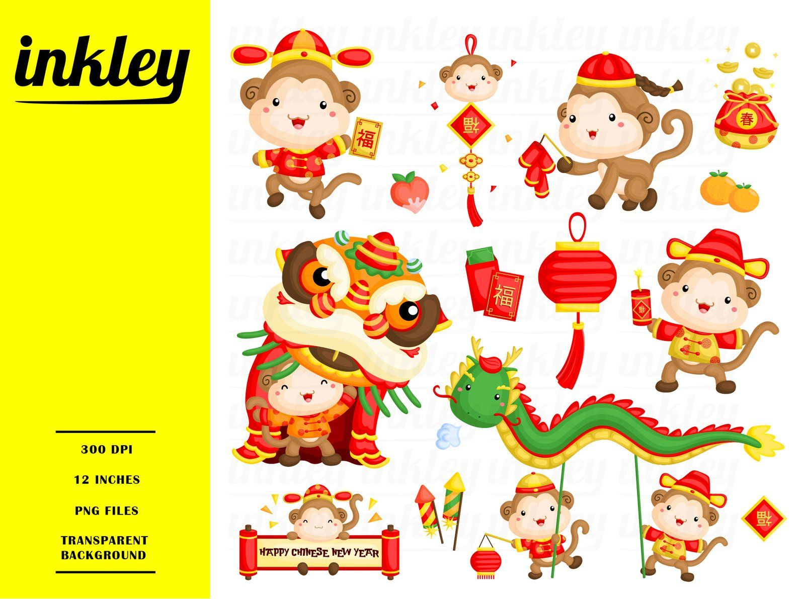 Chinese New Year Clipart, Chinese New Year Clip Art