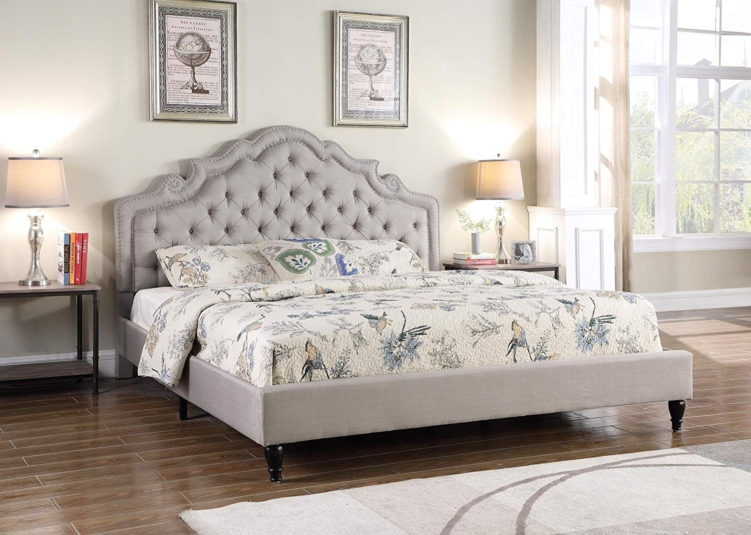 15 Simple Fullsize Platform Bed In Guest House For You