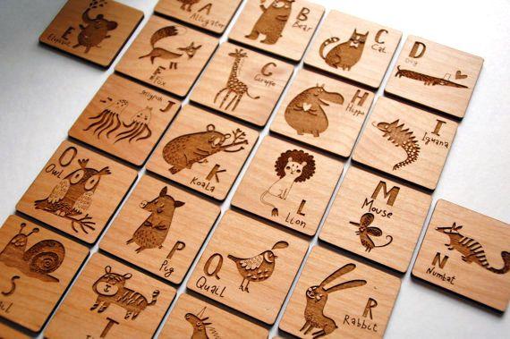 bulk custom magnets engraved wood tags by digitalcraftpdx kid s