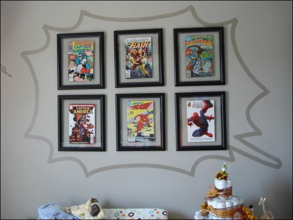 Decoration  Framed Comic Books Can Be Innovative Decor For Your Interior  Designs That Make Wall. Decoration  Framed Comic Books Can Be Innovative Decor For Your
