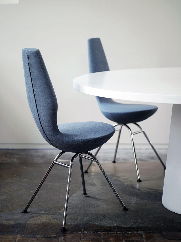 The Varier \'Date\' dining chair designed by Olav Eldøy ...
