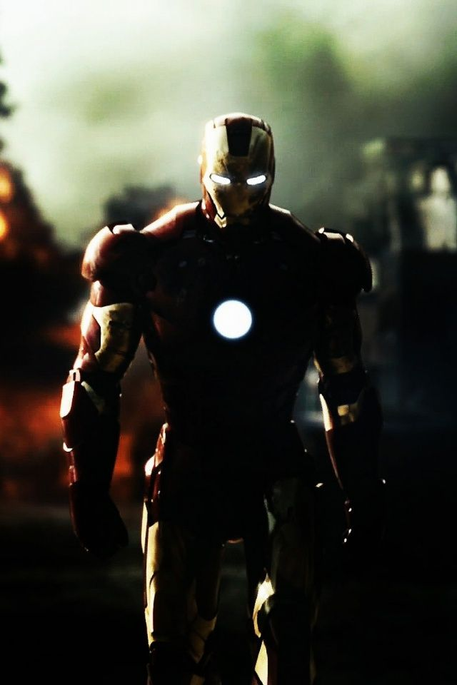 Phone Iron Man Mobile Wallpaper Wallpapers Iron Man Pinterest