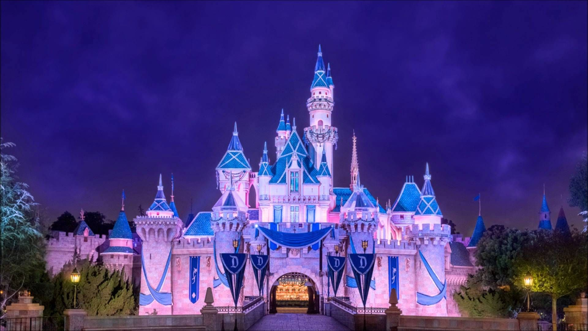 Sleeping Beauty Castle Disneyland Hd Desktop Wallpaper With