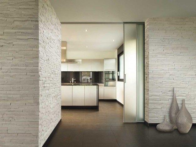Rivestimenti in pietra per interni - Fotogallery Donnaclick | Idee ...
