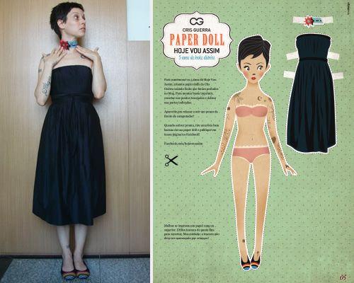 Paper Doll HVA - #hva5anos