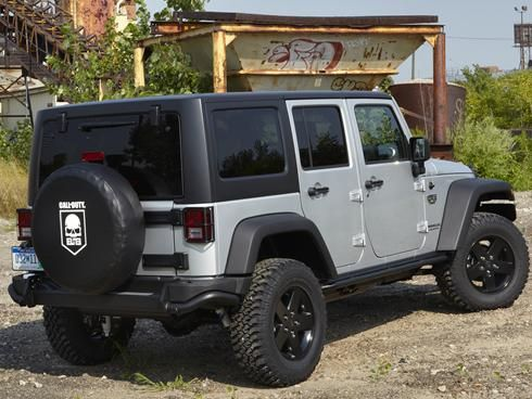 Introducing the 2012 Jeep Wrangler Call of Duty MW3 Version