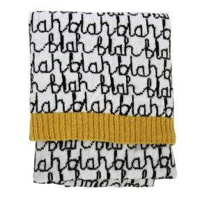Blah, Blah, Blah Blanket: Donna Wilson