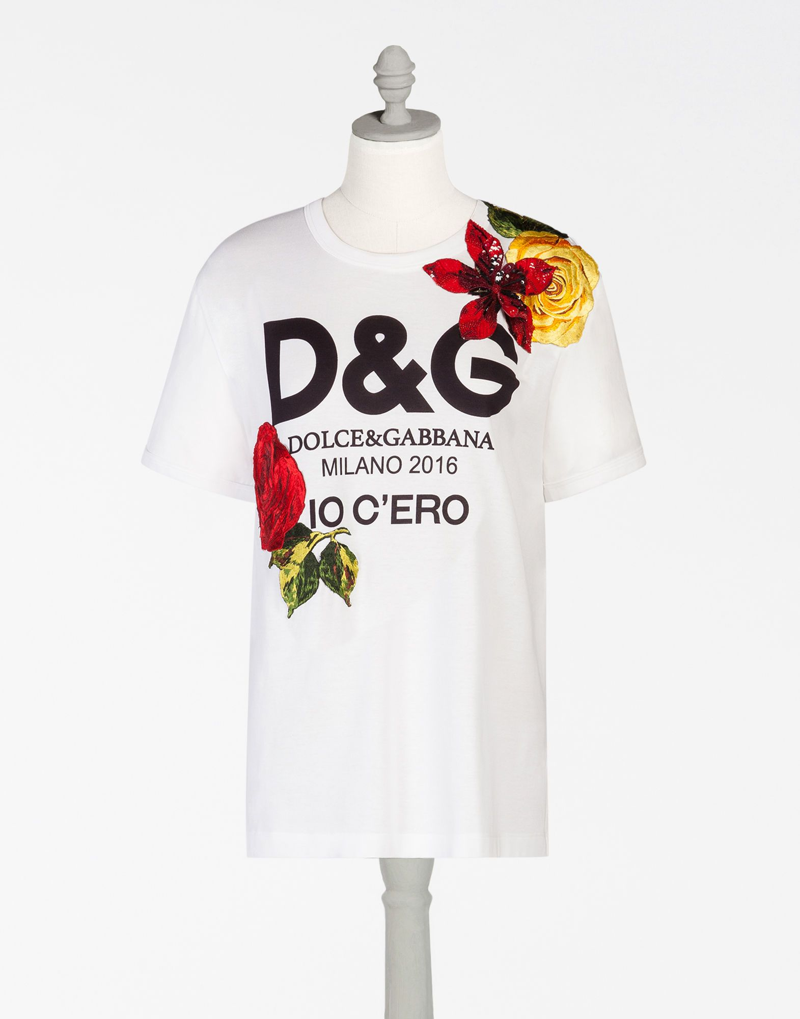 bb2ce364aa03 DOLCE   GABBANA T-Shirt With Print