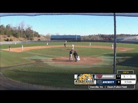 Averett baseball vs. Roanoke - http://www.truesportsfan.com/averett-baseball-vs-roanoke/