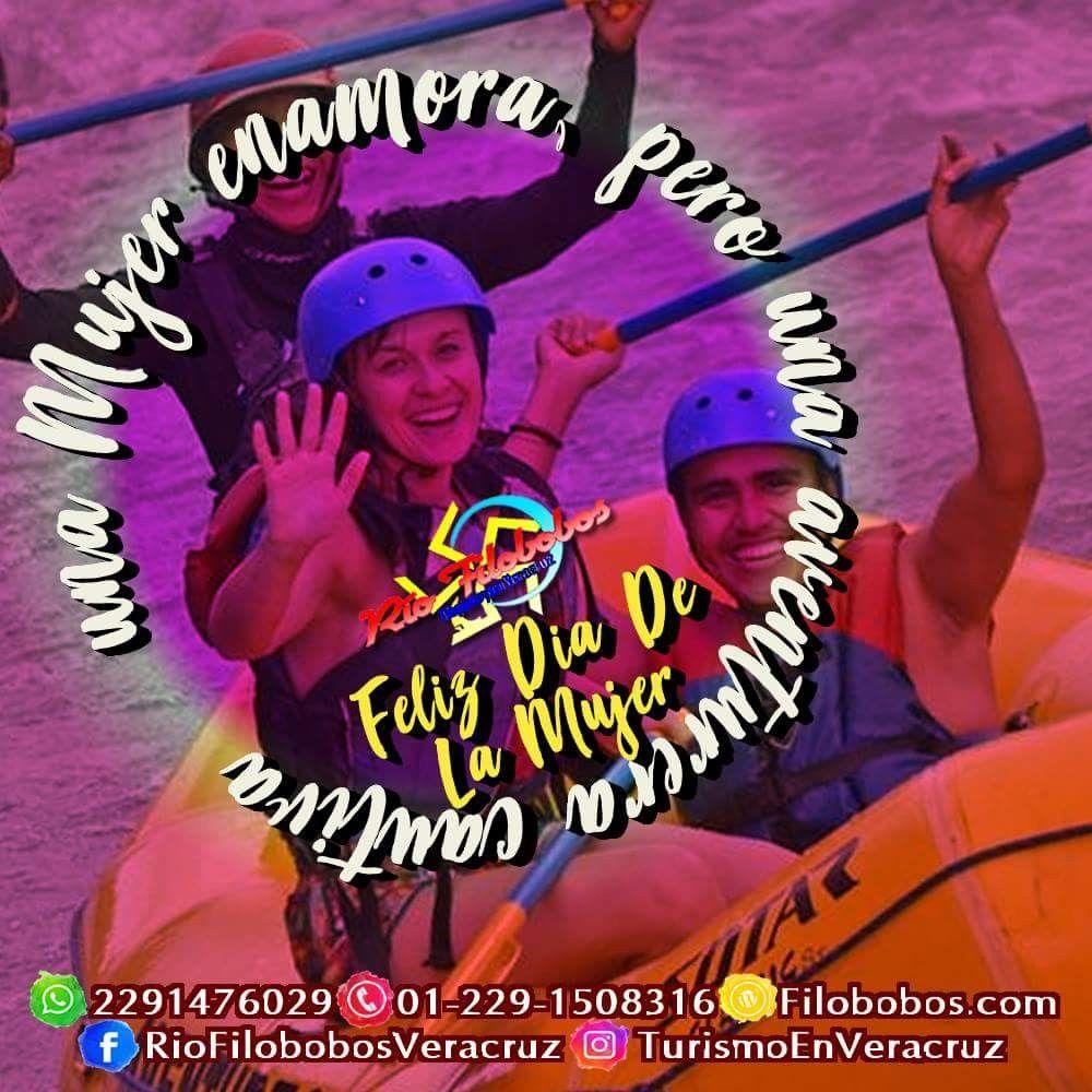 Una #mujer enamora, pero una #aventurera cautiva Feliz #DíaDeLaMujer http://www.filobobos.com #filobobos #riofilobobos #Veracruz #tlapacoyan #aventura #8demarzo