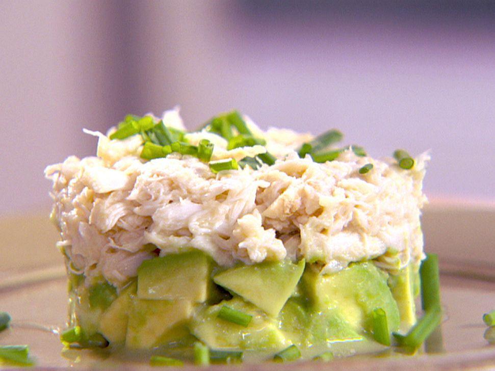 Crab And Avocado Duet Recipe Food Network Recipes Crab Recipes Food