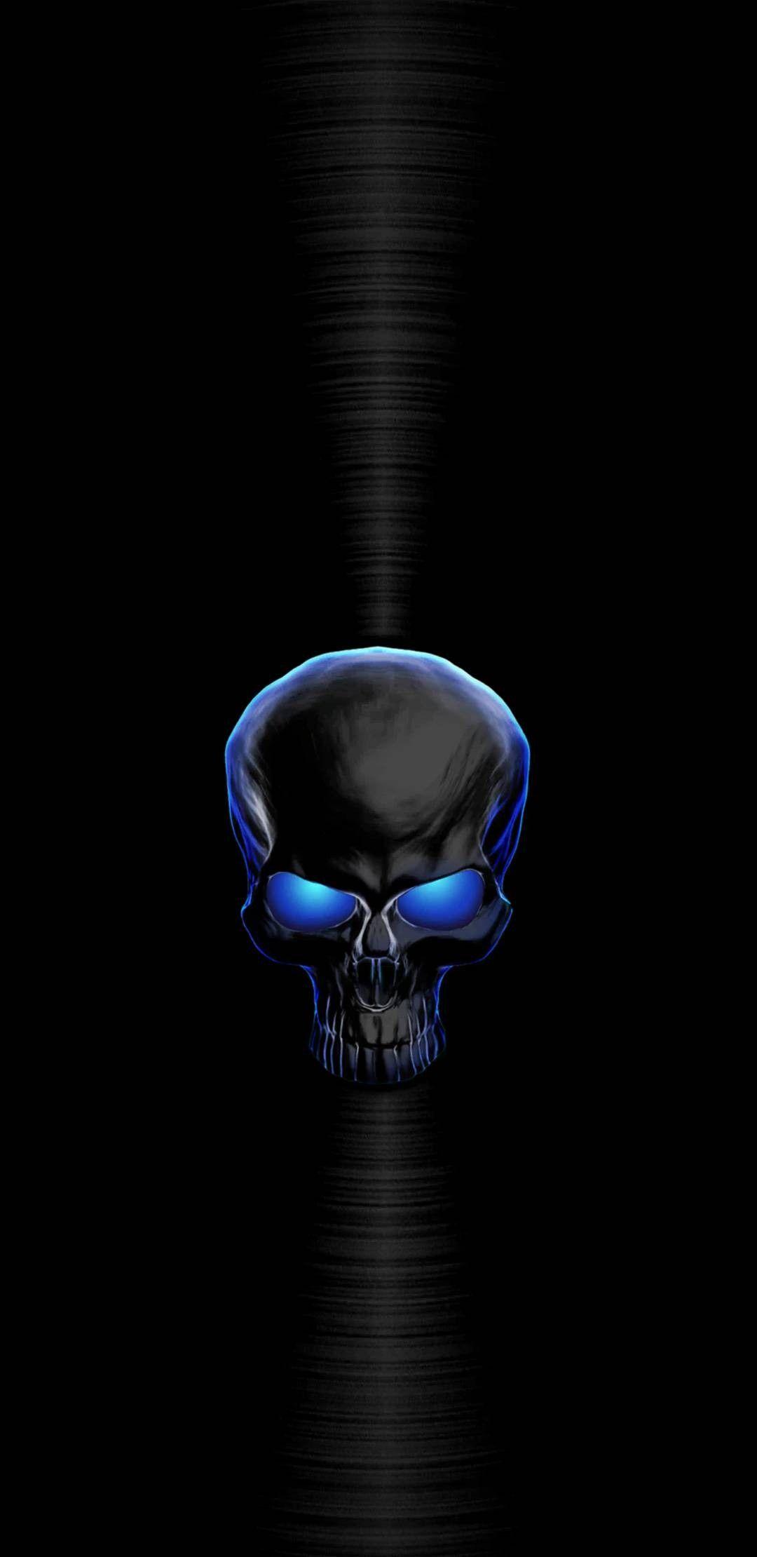 Pin By Stacy Rojas On Abstract Skull Wallpaper Skull Wallpaper Iphone Blue Skulls