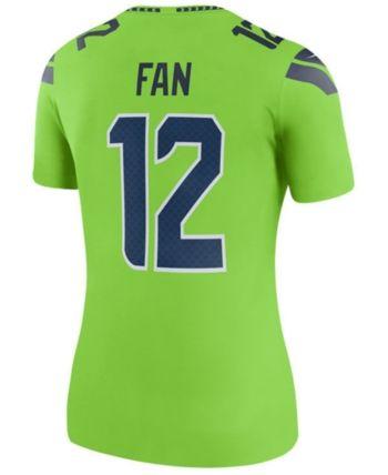 best sneakers 47068 5dbb5 Nike Women Seattle Seahawks Color Rush Legend Jersey in 2019 ...