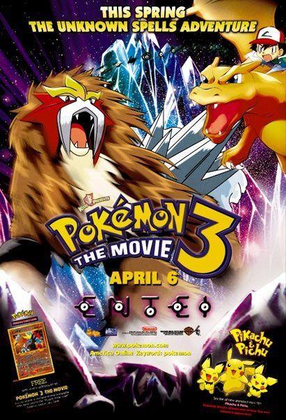 pokemon third movie movie poster all movie posters pinterest