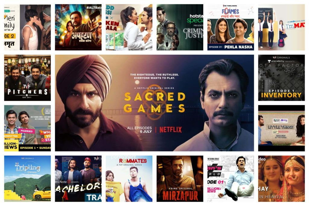 25 Best Indian Web Series in Hindi   Indian web, Web series, All episodes