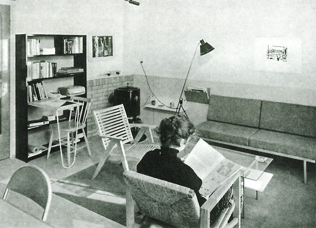 Niegeman johan goed wonen interieur woning kloos for Interieur 70 jaren