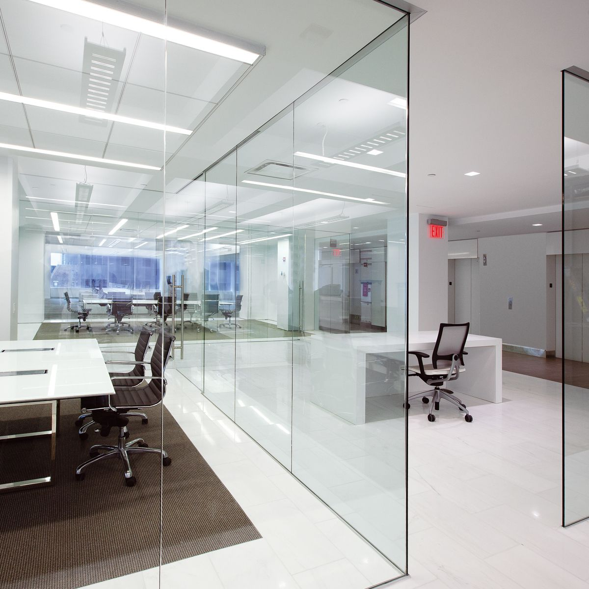 97013f8d38b DORMA Interior Glass Wall Systems – Transparency and Versatility. DORMA  Interior Glass Wall Systems – Transparency and Versatility Glass Partition  Designs ...
