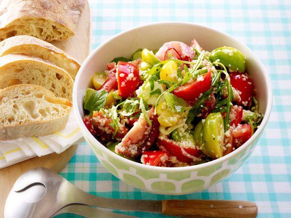 Salatrezepte - hier gibts was in die Schüssel! - bunter-tomatensalat