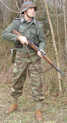 Repro Italian Antique Tarot Minchiate Cards 1 790: Reproduction German WWII Italian M29 Camouflage Trousers