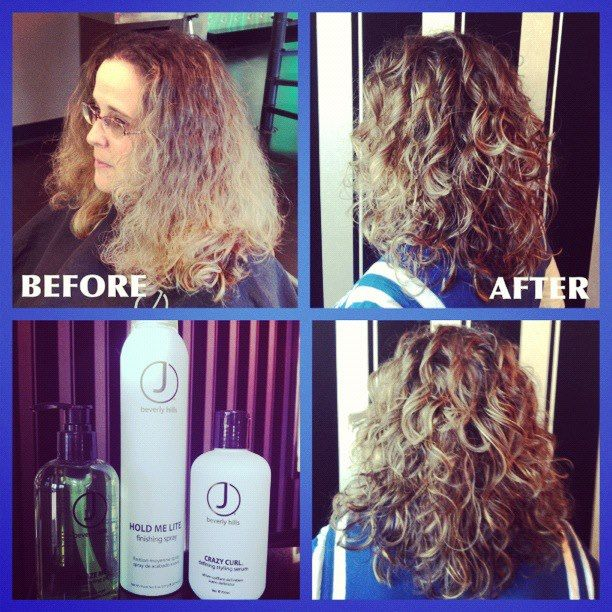 Our Guests And Fans Have Asked Us For Some Before And Afters Of Curly Hair And We Are Going To Deliver For This Look Best Hair Salon Curly Hair Problems Hair