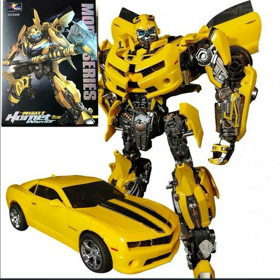 Transformers Weijiang Wj C Mpm03 Oversize Battle Alloy Bumblebee