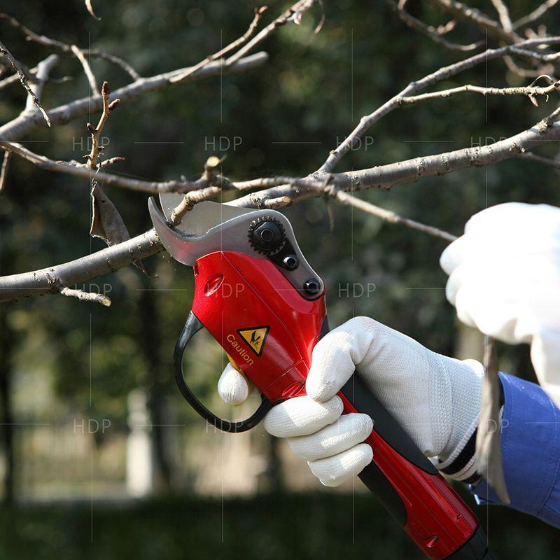 Li battery orchard secateurs best garden tools electric pruners (CE Certificate)