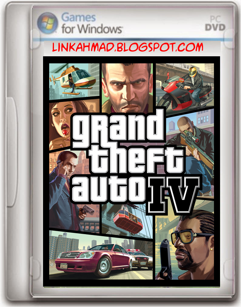 GTA 4 PC Game Free Download 4 65GB 100% Original - Games And