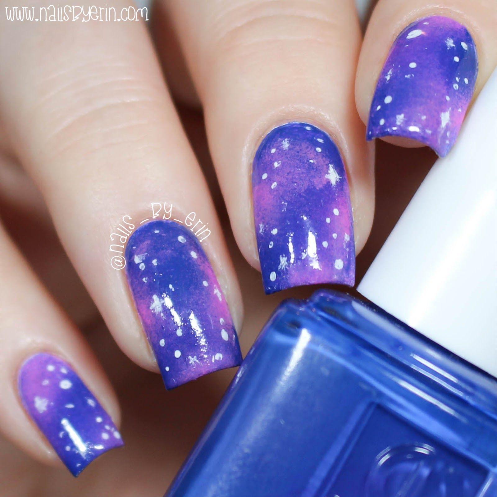 Galaxy Nails | NailsByErin | My Nails | Pinterest | Galaxy nail ...