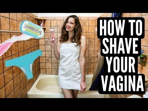 how to cut pubic hair without razor