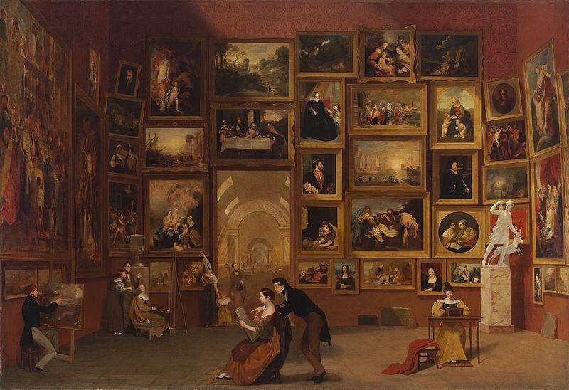 Gallery of the Louvre 183133 Samuel Morse Samuel Morse