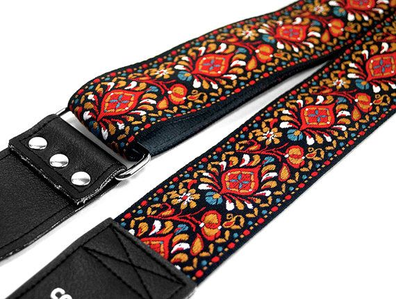 Woven Hippie Guitar Strap Boho Hand Made Vegan Quot Hendrix Quot Guitar Strap Vintage Guitar Strap Ukulele Straps