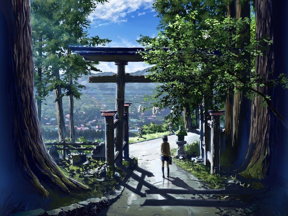 Landscape Garden And Architecture おしゃれまとめの人気アイデア Pinterest Setsuna Yotogi 神社 イラスト 風景 アニメーションアート