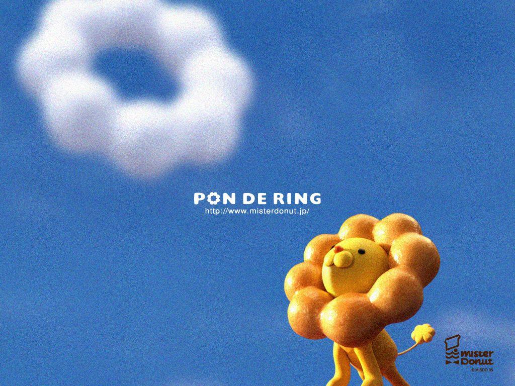 Pon de Lion Vip card, Mister donuts, Iphone wallpaper