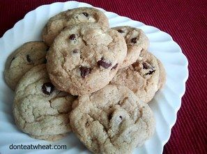 Janey's Chocolate Chip Cookies | Gluten free butter ...